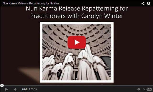 Nun Karma Repatterning for Financial Abundance